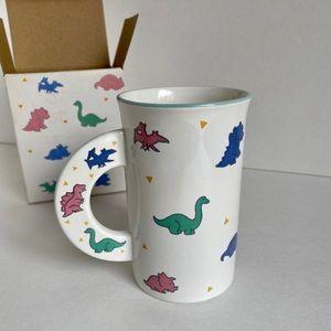Vintage Mikasa Dino Magic Mug Pastels